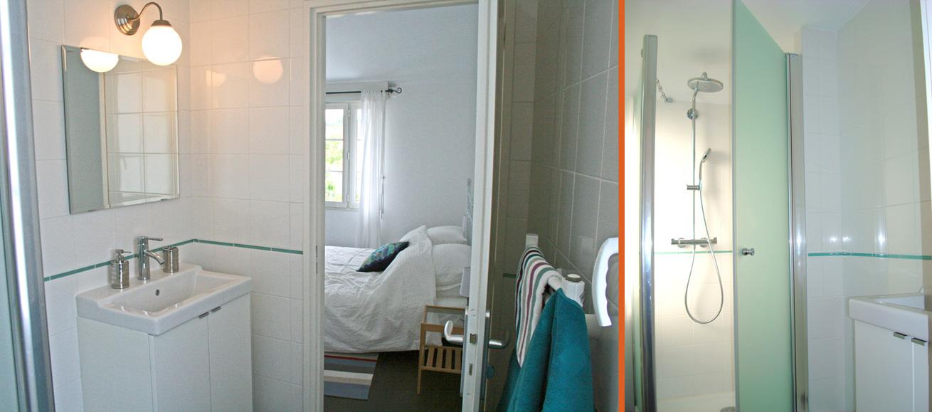 40 Rue des Fetes Domino Oleron Master Bedroom