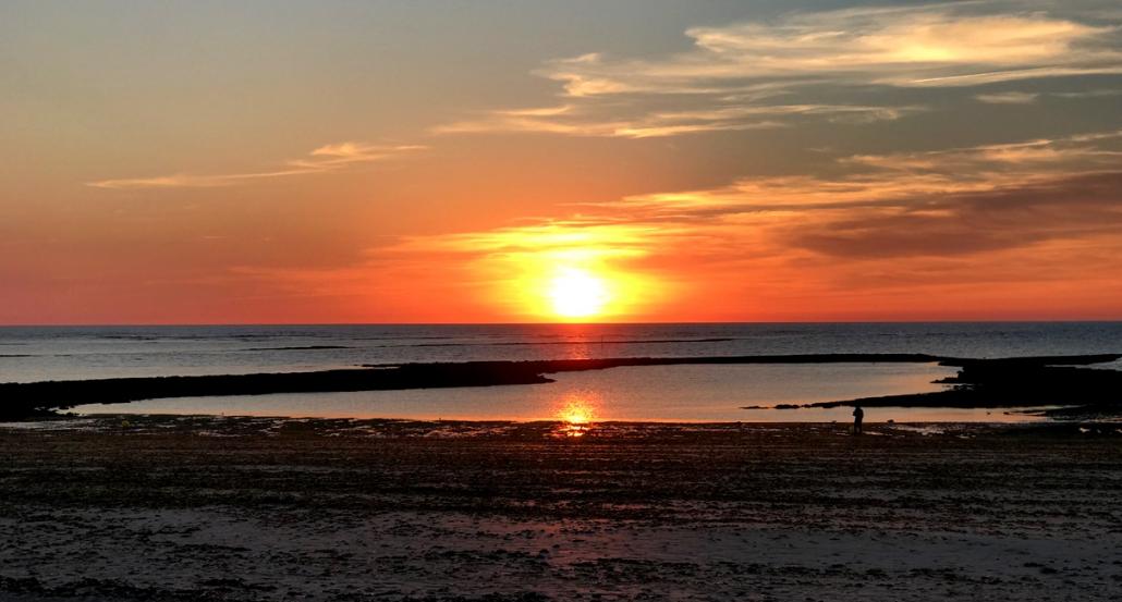 Plage de Chaucre Oleron Sunset